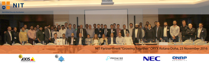 "NIT Partner Event ""Growing Together"" in Doha, Qatar – 23 November"